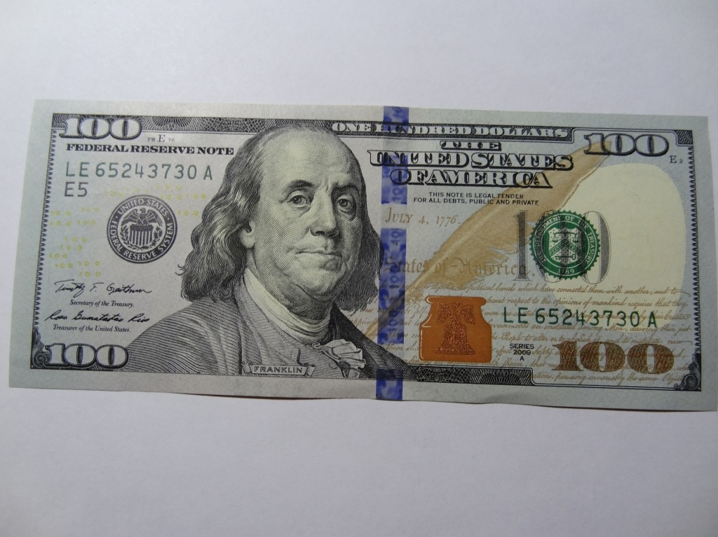Have You Seen The New $100 Bill? 100 Dollar Bill 2013