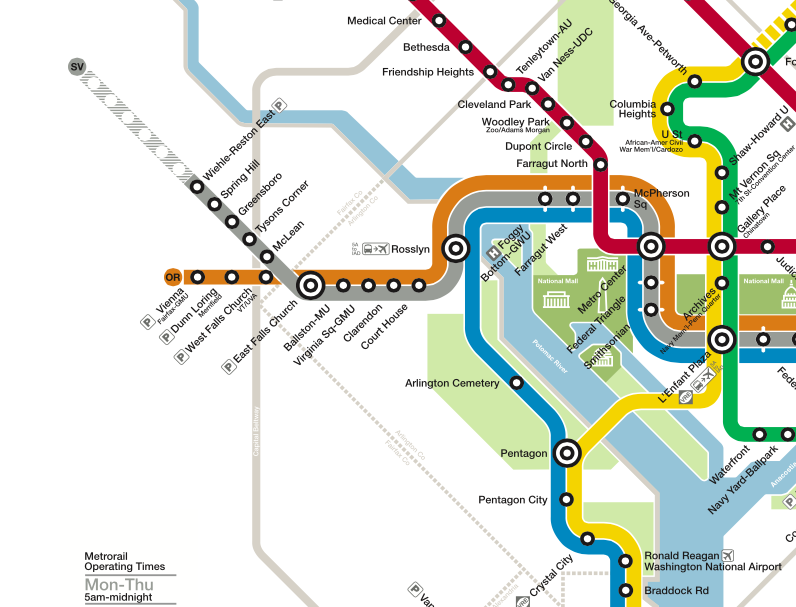 How To Use New Metro Silver Line To Get Between Dulles And Reagan
