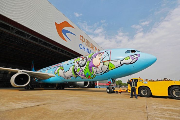Toy Story Themed A380